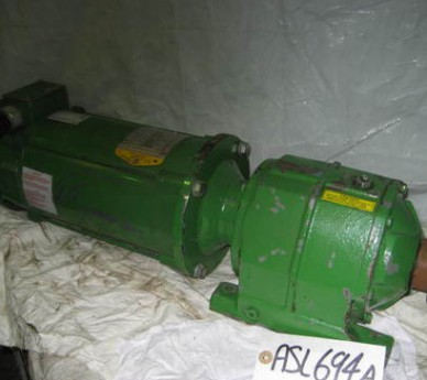 Baldor Industrial Motors, 1HP DC Motor, Cat No.-CDP3455, Spec-34-5990-3865, 1750RPM