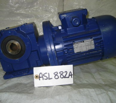 Renold Motor Gearbox, 3 Phase, Type: AGM80-4A, Model: 0075639-2, Gearbox Type:M162929/1
