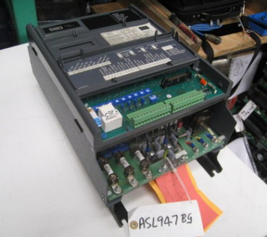 Eurotherm SSD 580, 10Amp AC Drive, Model: 580-040-5-0001-0-0-0-0-0-0-0, 4KW Invertor Drive
