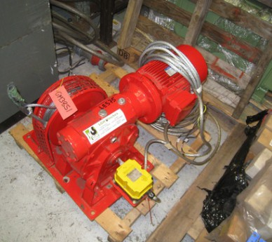 1.2 Ton LGH Electric Winch - Driven by 3 Kw electric motor