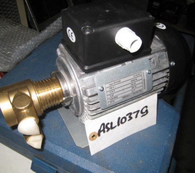 Maprotec GmbH Pump motor, D-65510 Idstein, PA401- Sno: 4AX4H, Config - D.M.174/2004